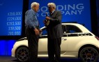 Jay Leno's 2012 Fiat 500 Sells For $350k At Charity Auction