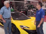 Jay Leno with his McLaren P1