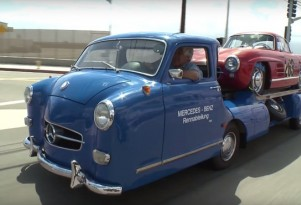 Jay Leno's 1950 Mercedes-Benz Racecar Transporter