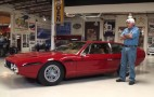 Jay Leno shows off his 1969 Lamborghini Espada
