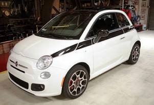 Jay Leno's Fiat 500 Prima Edizione - image courtesy of Jay Leno's Garage