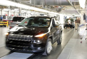 Jeep Cherokee production