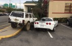 Jeep Driver Out-Jerks Corvette Driver's Jerk Parking Job: Video