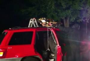 Police Arrest Driver Of Fireworks Laden SUV