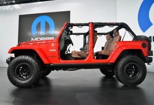 Jeep Wrangler Red Rock concept, 2015 SEMA show