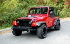 This Supra-powered Jeep Wrangler seeks a new owner