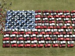Jeep American Flag