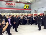 Jeff Gordon breaks news of his future plans to the Hendrick Motorsports team