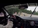 Jeff Zwart and his Porsche 911 at Pikes Peak, 2013