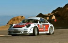 Jeff Zwart Running Pikes Peak In 2013 With Tuborcharged 911 GT3 Cup Car