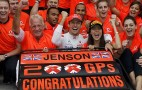 Jenson Button Takes Out 2011 Formula 1 Hungarian Grand Prix