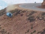 Jeremy Foley and Yuri Kouznetsov crash at Pikes Peak 2012