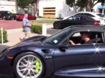 Jerry Seinfeld in his 2015 Porsche 918 Spyder