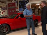 Jey Leno tests the 2015 Dodge Challenger SRT Hellcat