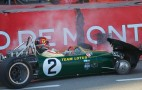 Jim Clark's Lotus 49 Crashed At Monaco