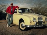 Jim Jones and his 1957 Jaguar Mark 1