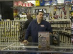Joe Ferrer, owner of BS&F Auto Parts in the Bronx, New York