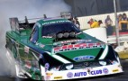 John Force, Spencer Massey, Greg Anderson NHRA Pomona Winners