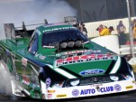 John Force burnout - Anne Proffit photo