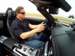 John Hennessey in a Mercedes-Benz SLS AMG at 147 mph.