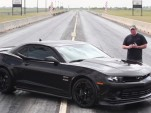 John Hennessey tests his HPE600 Camaro Z/28