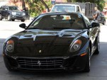 John Mayer rolls in a Ferrari 599 GTB