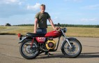 Homebrew 6-HP Motorcycle Sets Biodiesel World Speed Record