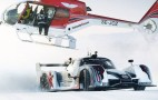 Snow Drifting In A Prototype Racer? Jon Olsson Shows Us How: Video