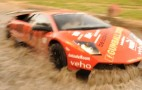 Gumball 3000 Lamborghini Fearless In Water Crossing: Video