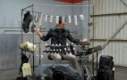 40-Piece Musical Drum Kit Built From Car Parts: Video