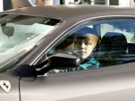 Justin Bieber driving