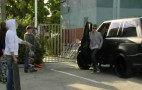 Justin Bieber Spotted With His A. Kahn Design Range Rover