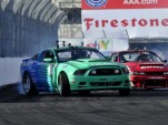 Justin Pawlak battles Daijiro Yoshihara in Formula DRIFT finals - Anne Proffit photo