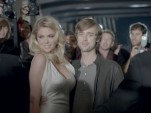 Kate Upton & Sebastian Beacon in a 2013 Super Bowl ad for the Mercedes-Benz CLA class