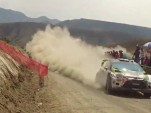 Ken Block and Alex Gelsomino in the 2012 WRC Rally Mexico