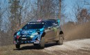 Ken Block in the 100 Acre Wood rally