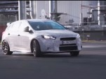 Ken Block in the new Ford Focus RS