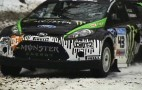 Video: Ken Block Sno*Drift Fiesta Shakedown Run