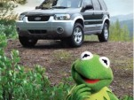 Kermit and Ford Escape Hybrid