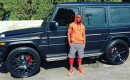 Kevin Hart and his Mercedes-AMG G65 (via Instagram)