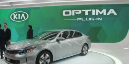 2017 Kia Optima Hybrids: Details On 27-Mile Plug-In Hybrid: Live Photos And Video