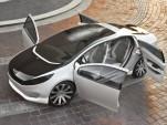 Kia Ray plug-in hybrid concept car
