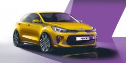 New Kia Rio headed to Paris Motor Show