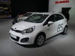 Kia Rio Ecodynamics live photos, 2011 Frankfurt Auto Show