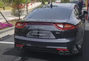 Kia Stinger GT shares its exhaust noise