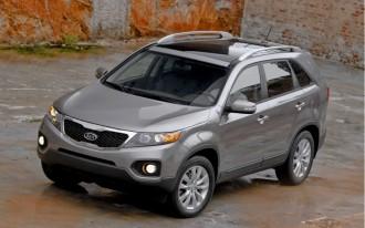 2012 Kia Sorento Zooms In Residual Value