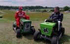 Lawnmower Racing With Kimi Räikkönen: Video