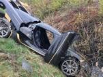 Koenigsegg Agera RS crashed during testing - Image via Expressen