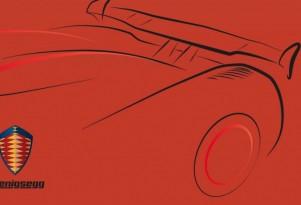 Koenigsegg Agera RS teaser sketch