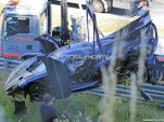 Koenigsegg One:1 crash on the Nürburgring - Image via S. Baldauf/SB-Medien